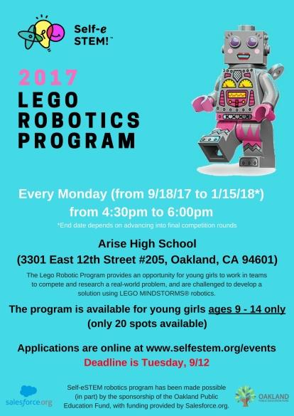 2017 Robotics Program