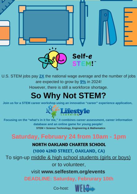 2018 Feb - So Why Not STEM_