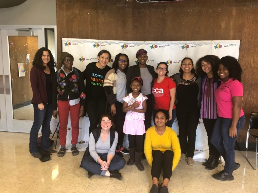 graduate student volunteers and Self e-STEM leadership and Alexis